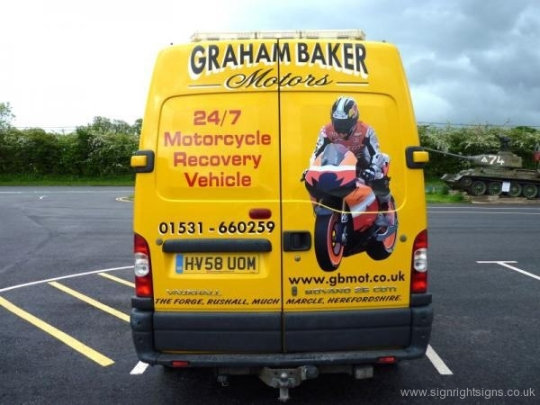 graham-baker-motorcycle-van-sign