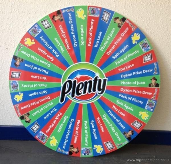 plenty-wheel