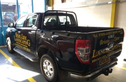 Brian Lane Landscaping Ford Ranger