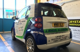 Smart car vehicle livery