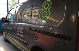 Kree8 van livery