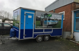 Edwards agricultural supplies trailer wrap ns