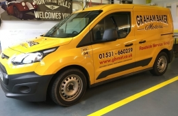 Graham baker motors van graphics