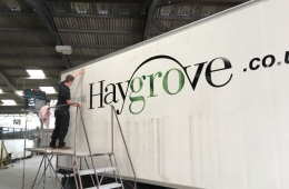 haygrove trailer side signage