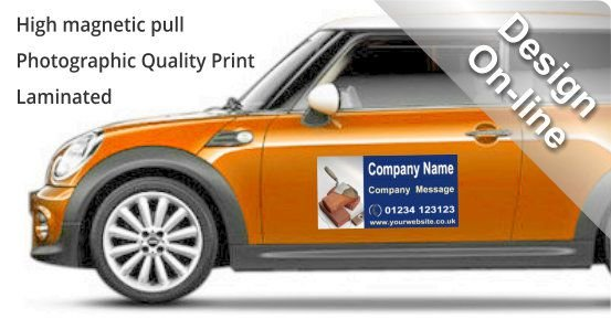 Magnetic Signs For Your Car Or Van From Sign Right Design  Buy - Car signs