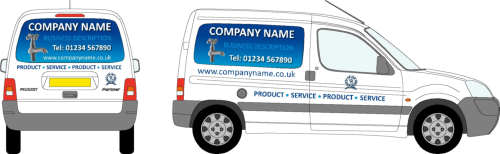 Small_van_vehicle_livery_Full Colour Panels_design