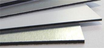 Rigid aluminium composite metal signs
