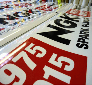 Design Printed Vinyl Signs online